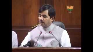 BJP Press: Karnataka drought: Sh. Syed Shahnawaz Hussain: 21.05.2012