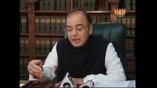 BJP Byte: Growth Rate down & 'Bharat Bandh' on Petrol price hike: Sh. Arun Jaitley: 31.05.2012