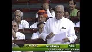 Finance Bill, 2012: Sh. Yashwant Sinha: 07.05.2012