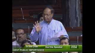 Matters of Urgent Public Importance: Sh. Bishnu Pada Ray: 10.05.2012