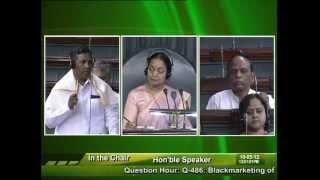 Question Hour: Q-486:  Blackmarketing of Tickets: Sh. Mansukhbhai D. Vasava: 10.05.2012