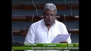 Matters of Urgent Public Importance: Sh. Rajendra Agarwal: 15.05.2012