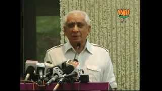 Book Launch 'THOSE WERE THE DAYS &THEN' by Mira Govind Advani: Sh. Jaswant singh: 13.06.2012