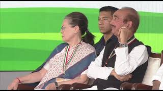 Jan Aakrosh Rally: Ashok Gehlot addresses Jan Aakrosh Rally at Ramlila Maidan.