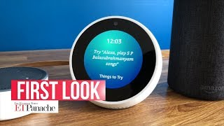 Unboxing Amazon Echo Spot: Smart speaker with a 2.5-inch screen | ETPanache