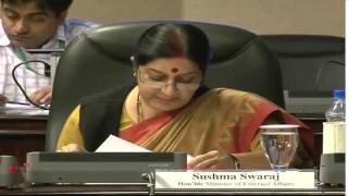 Opening remarks by EAM at the First India-League of Arab States Media Symposium