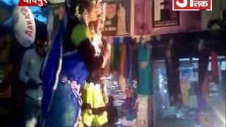 हनुमान जन्मोत्सव के मोके पर निकाली गई शोभायात्रा