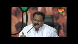 BJP Press: Corruption in UPA: Sh. Jagat Prakash Nadda: 27.06.2012