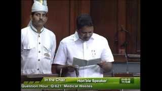 Question Hour: Q-621: Medical Wastes: Sh. Janardhana Swamy: 21.05.2012