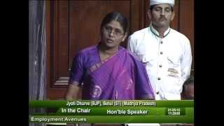 Question Hour: Q-623 Employment Avenues: Smt. Jyoti Dhurve: 21.05.2012