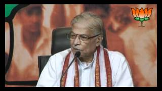 BJP Press: Prime Ministers's review of Pranab economic policies: Sh. Murli Manohar Joshi: 29.06.2012