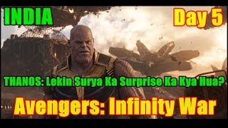 Avengers Infinity War Collection Day 5 In INDIA