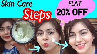 Garmi me Skin glow kaise? Skin Care Routine ft. Good Vibes at Flat 20% Discount | JSuper Kaur