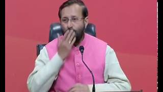 Press Conference by Shri Prakash Javadekar at BJP Central Office, New Delhi : 23.02.2017