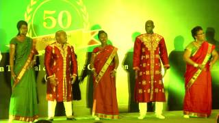 Culture Programme at Golden Jubilee Celebration of ITEC (October 21, 2014)