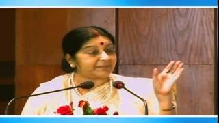External Affairs Minister's address at World Hindi Day celebration in New Delhi (January 10, 2015)