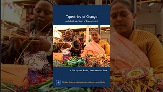 Tapestries of Change- An Indo-African Story of Empowerment
