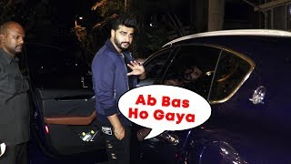 Arjun Kapoor SPOTTED At Sonam Kapoor's House For Wedding Preparation