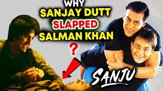 Why Sanjay Dutt SLAPPED Salman Khan Explained | SANJU TEASER