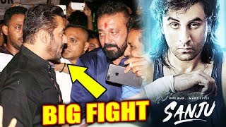 Why Sanjay Dutt SLAPPED Salman Khan, SANJU FIRST SONG BHOPU Revealed | Ranbir Kapoor
