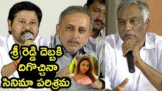 TFI Spoke's Person on Casting Couch Pressmeet | TFI Spokesperson To the Media Press Meet
