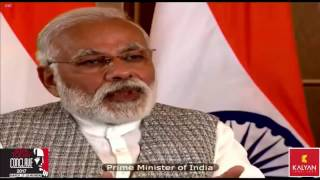 PM Shri Narendra Modi at India Today Conclave 2017