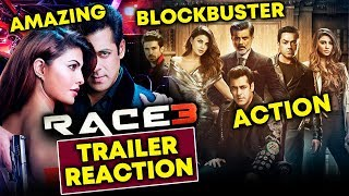 RACE 3 TRAILER REACTION From Insiders | ACTION DHAMAKA | Salman Khan, Jacqueline