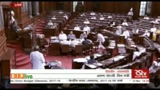 FM Shri Arun Jaitley's reply during discussion on Union Budget (General), 2017-18: 23.03.2017