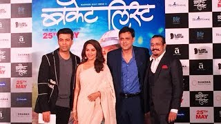 Bucket List Trailer Launch | Madhuri Dixit, Sumit Raghwan, Karan Johar