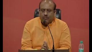 Press Conference by Shri Vijender Gupta and Dr. Sambit Patra