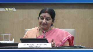 Joint Press Conference by External Affairs Minister and MoS I:C AYUSH on International Day of Yoga