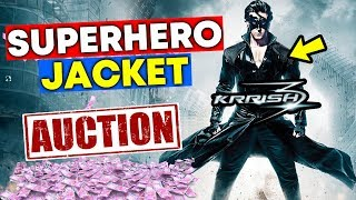 KRRISH JACKET AUCTIONED FOR CHARITY | Hrithik Roshan's Superhero Jacket