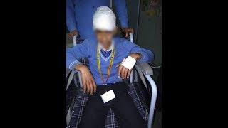 Stone-pelters target school bus with 35 children in Kashmir, injure boy