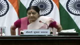 Press Conference by External Affairs Minister on forthcoming World Hindi Conference