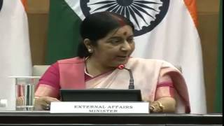 Press Conference by External Affairs Minister (October 26,2015)
