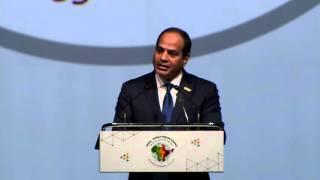 Opening Statement by H. E. Mr. Abdel Fattah Al-Sisi, President of the Arab Republic of Egypt