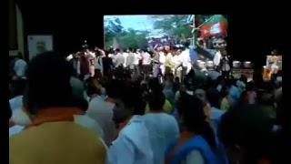 Shri Amit Shah addresses Vijay Parv on winning Delhi MCD elections in New Delhi