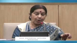 Keynote Address by External Affairs Minister on 14th Pravasi Bharatiya Divas (January 09, 2016)