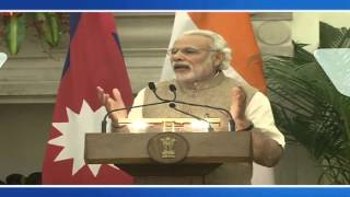 Exchange of Agreements & Press Statements   State Visit of Prime Minister of Nepal to India