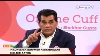 Debunking the job loss myth - Watch excerpt of an interview with Shri Amitabh Kanth, CEO, Niti Aayog