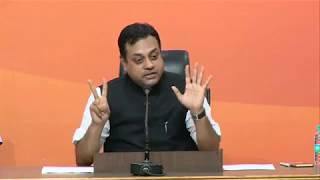 Press Conference by Dr. Sambit Patra at BJP Central Office, New Delhi : 06.06.2017