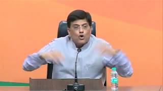 Press Conference by Shri Piyush Goyal at BJP Central Office, New Delhi : 07.06.2017