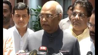 Shri Ram Nath Kovind byte after filing his nomination for Presidential Election