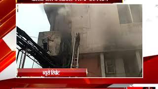 प्रतापगढ़ - बीएसएनएल के ऑफिस ने लगी भीषण आग - tv24