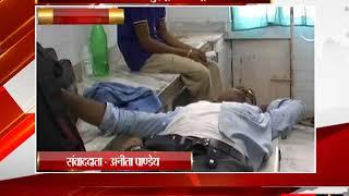 रीवा - रेलवे की लापरवाही से हुई ट्रक और ट्रेन की टक्कर - tv24
