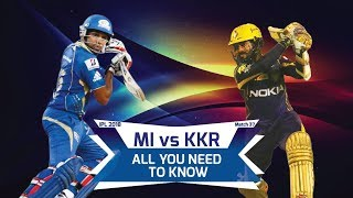 IPL 2018: Match 37, MI vs KKR: All you need to know