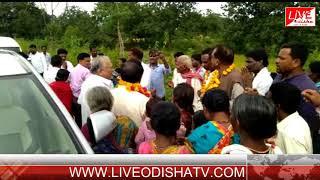 PAPADAHANDI BLOCK VISIT MP BALABHADRA MAJHI
