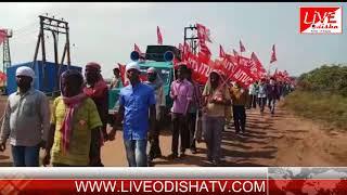GOPALPUR PORT SUPERVISORS & WORKERS UNION STRIKE