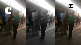 Scuffle between GRP jawan, railway staff at Patna railway station