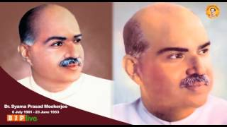 """Tributes to the founder of Jan Sangh and the """"true patriot"""" Dr. Syama Prasad Mookerjee"""